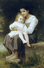 William-Adolphe Bouguereau (1825-1905) - Big Sis' (1886).jpg
