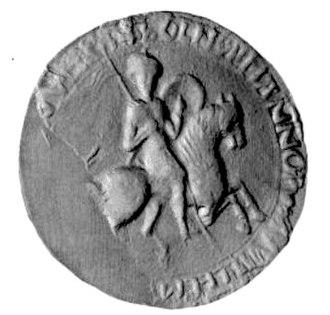 Equestrian seal - Image: William 1 of England