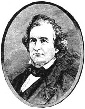 William Carr Lane - Carr as depicted in Volume 1 of 1909's St. Louis, the Fourth City, 1764-1909.