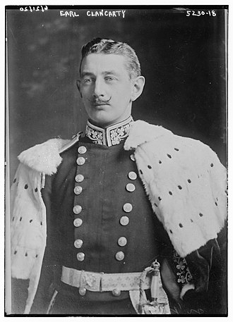 Earl of Clancarty - William Frederick Le Poer Trench, 5th Earl of Clancarty (1868-1929)