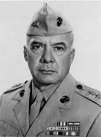 William R. Collins - MG William R. Collins, USMC