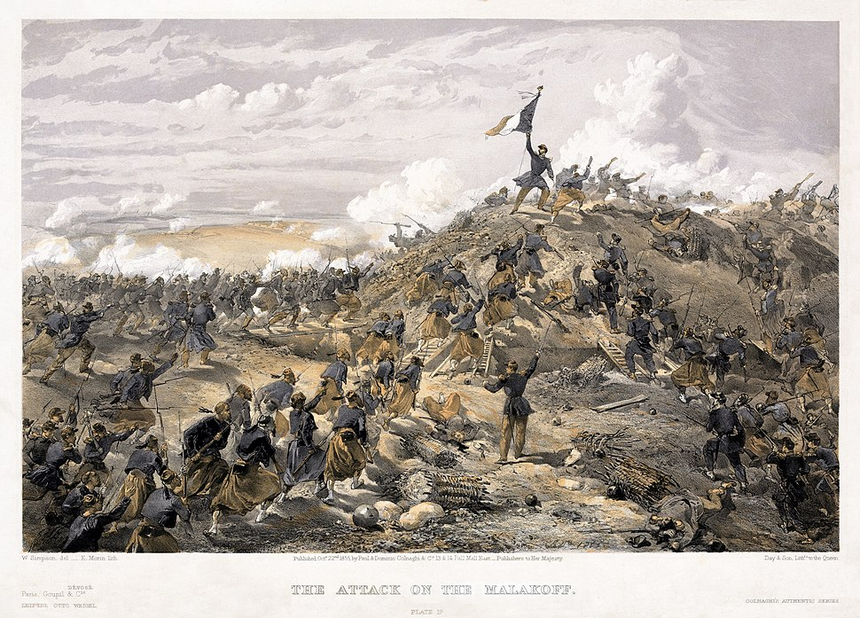 William Simpson - Attack on the Malakoff