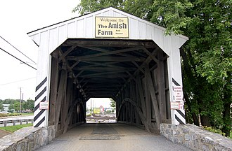 Willow Hill Covered Bridge - Image: Willow Hill Covered Bridge Approach 2942px