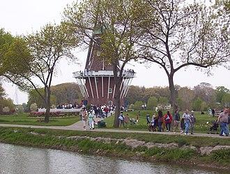 Windmill Island - Windmill Island during Tulip Time 2005.