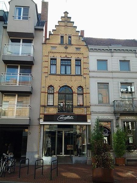 Winkelhuis 1922 Noordstraat 9 Roeselare