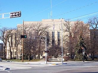 Winnebago County, Wisconsin - Image: Winnebago County Wisconsin Courthouse
