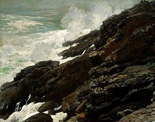 High Cliff, Coast of Maine