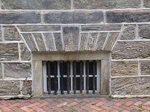 Wissahickon Formation - Wissahickon schist, Cliveden, 6401 Germantown Avenue, Philadelphia