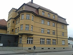 Wolframstraße in Augsburg