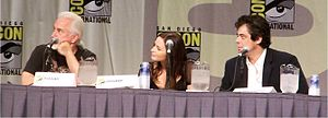 "The panel for the 2009 film ""The Wolfman&..."