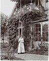 """Woman at """"Skraenten"""", Skodsborg, Denmark (3545833454).jpg"""