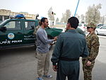 Women from 203rd Zone Afghan Border Police and TAAC-S attend shura at Kandahar Airfield, Afghanistan 150809-N-SQ656-054.jpg