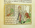 Woodcut illustration of a Roman woman (Romana) suckling her mother in prison - Penn Provenance Project.jpg