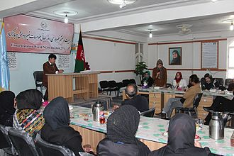 Non-governmental organization - World NGO Day 2014 in Afghanistan