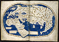 World map by Martellus - Account of the Islands of the Mediterranean (1489), ff.68v-69 - BL Add MS 15760.jpg