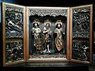 Tryptyk świętych Wawrzyńca, Jana Chrzciciela i Szczepana