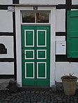 Wuppertal, Schlehenweg 14, Haustür.jpg