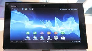 Xperia Tablet S auf der Internationalen Funkausstellung 2012 in Berlin 1 PD.JPG