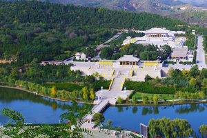 Mausoleum of the Yellow Emperor - Xuanyuan Temple