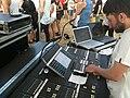 YAMAHA M7CL, Sandcastles Festival 2010.jpg