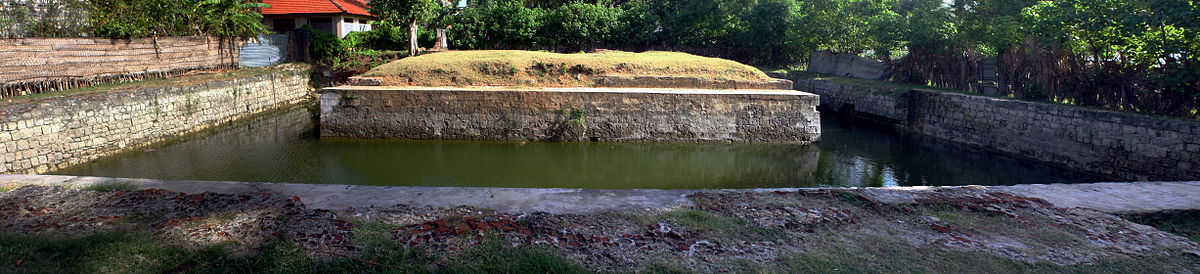 Yamuna Eri in panorama view