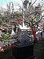 Yasaka Shrine - Stone miniature of Gion-float.jpg