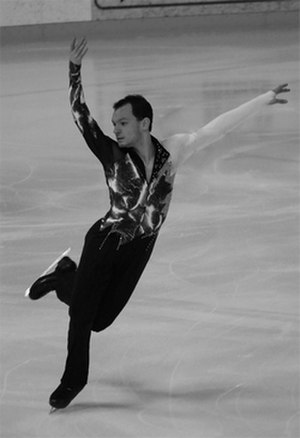 Yoann Deslot - Yoann Deslot during the French Championships in 2008 (copyright Florence Lécrivain)