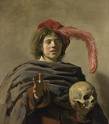 Frans Hals: Jeune Homme tenant un crâne