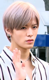 Yuta Nakamoto going to a Music Bank recording in March 2018 03.png