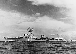 Type 1936 destroyers class of German destroyers