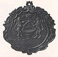 Zunftzeichen der Kürschner oder Gerber aus Siebenbürgen, 1808.jpg
