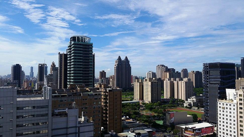 Zuoying %26 Gushan Skyline October 2017