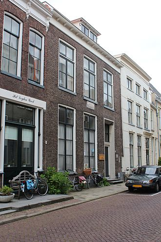 Johan Rudolph Thorbecke - Thorbecke's birthplace in Zwolle, nowadays known as the Thorbeckehuis