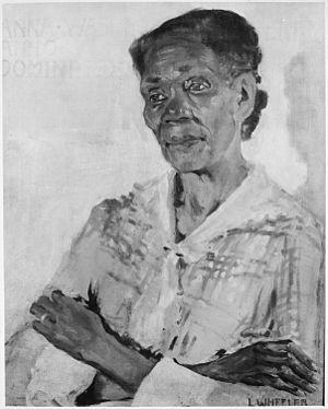 """Laura Wheeler Waring - Image: """"Anne Washington Derry"""" NARA 559139"""