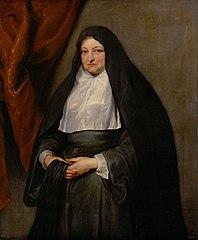 Infantin Isabella Clara Eugenia (1566-1633), portrait as a widow