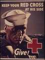 """Keep your Red Cross at his side. Give"" - NARA - 514825.tif"