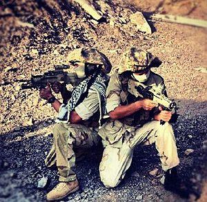 """Givati Brigade - """"Rimon"""" (Pomegranate) special operations unit"""