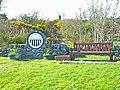 """Welcome to Glenluce"" - geograph.org.uk - 173322.jpg"