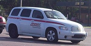 Advance Auto Parts - 2006-2010 Chevrolet HHR used as the fleet vehicle of the company.