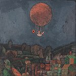'Der Luftballon' by Paul Klee, 1926.jpg