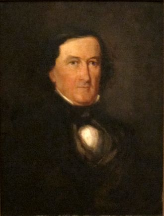 George Washington Whistler - Portrait of Major George Washington Whistler by Henry Inman