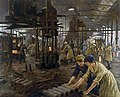 'The Munitions Girls' oil painting, England, 1918 Wellcome L0059548.jpg