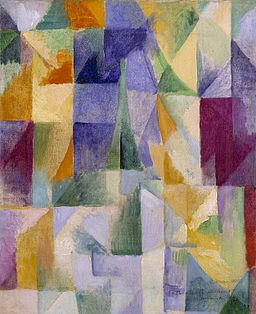 'Windows Open Simultaneously (First Part, Third Motif)' by Robert Delaunay