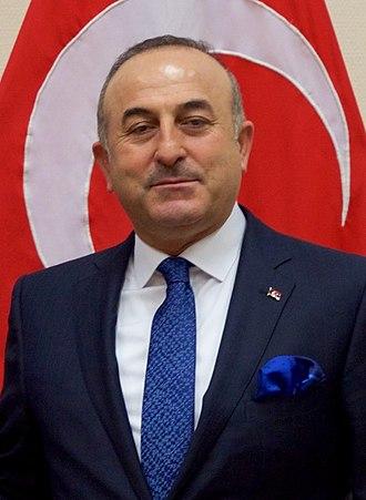 Cabinet Erdoğan IV - Image: Çavuşoğlu