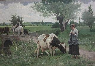 La Vache bien gardée