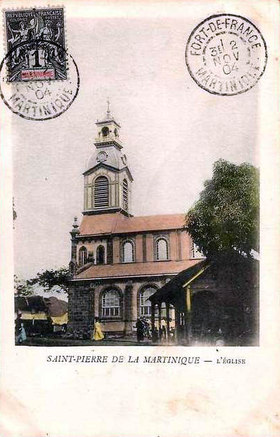 Image illustrative de l'article Église Saint-Étienne-du-Centre de Saint-Pierre de la Martinique