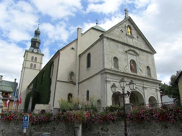 Monument historique à Megève