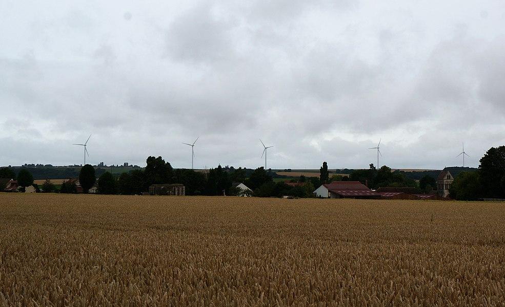 Parc éolien de l'Ourcq et du Clignon.