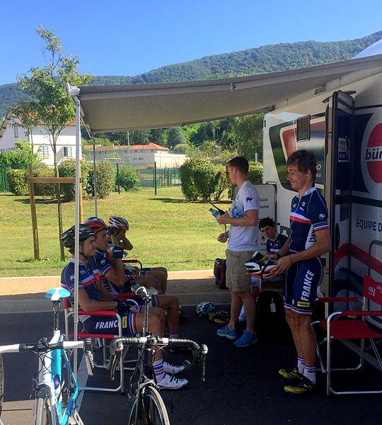 Étape 4 du Tour de l'Ain 2016 - départ de Lagnieu.