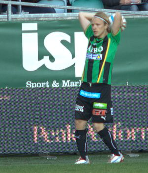 Jesper Florén - Florén playing for GAIS
